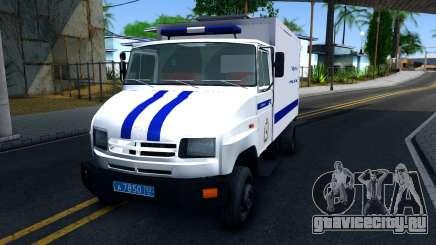 ЗИЛ 5301 Бычок Автозак для GTA San Andreas