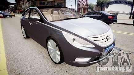 Hyundai Sonata v2 2011 для GTA 4