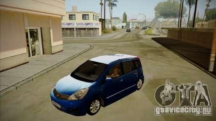Nissan Note 2008-2009 для GTA San Andreas