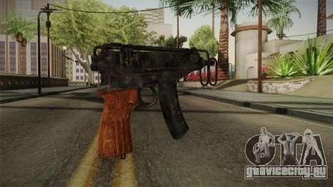 CoD 4: MW - Škorpion vz. 61 Remastered для GTA San Andreas второй скриншот