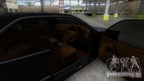 1993 Mercedes-Benz 600SEC для GTA San Andreas вид сзади слева