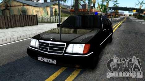 Mercedes-Benz W140 400SE для GTA San Andreas