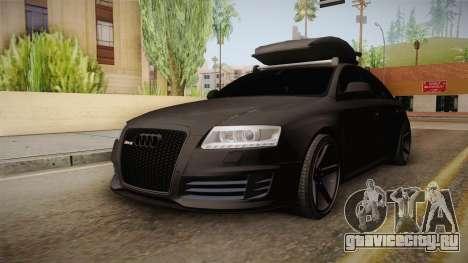 Audi RS6 для GTA San Andreas вид справа