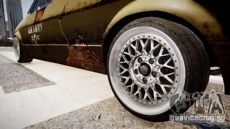 Volkswagen Caddy US Army для GTA 4 вид сзади