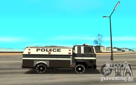 DFT30 Enforcer для GTA San Andreas вид слева