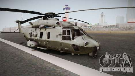 CoD: Ghosts - NH90 Retracted для GTA San Andreas