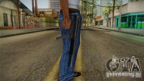 MP5 SD3 для GTA San Andreas третий скриншот