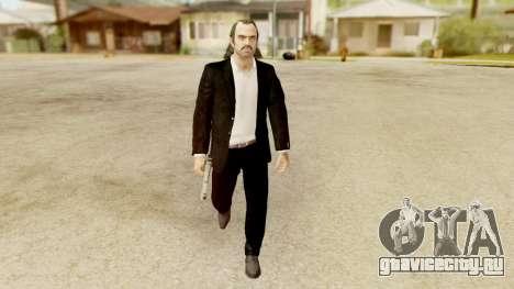 GTA 5 Trevor Prologue in Black Suit для GTA San Andreas второй скриншот