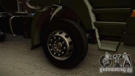 Iveco Trakker Hi-Land 4x2 Cab High v3.0 для GTA San Andreas вид сзади