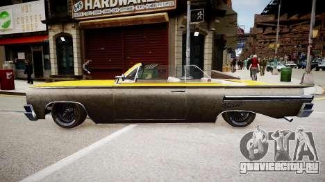 Voodoo Cabrio для GTA 4 вид справа