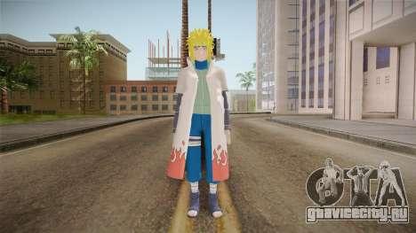 Minato Hokage Outfit (Sage Mode) для GTA San Andreas второй скриншот