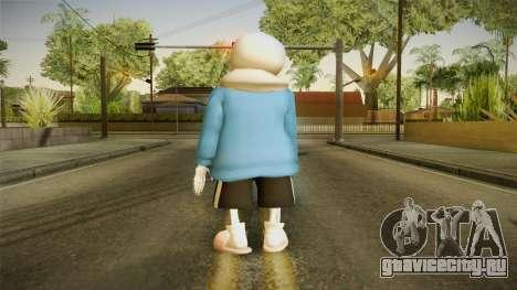 Sans The Skeleton для GTA San Andreas третий скриншот