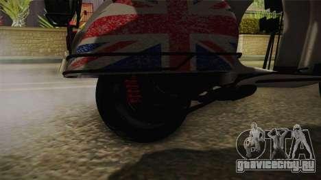 GTA 5 Pegassi Faggio Cool Tuning v4 для GTA San Andreas вид сзади