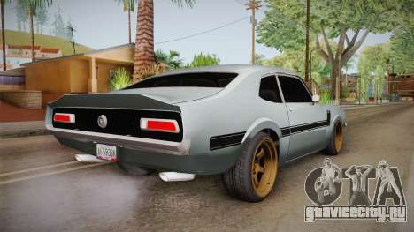 Ford Maverick 1977 для GTA San Andreas вид слева