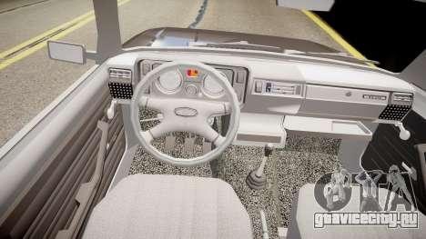 Ваз 2104 для GTA 4 вид изнутри