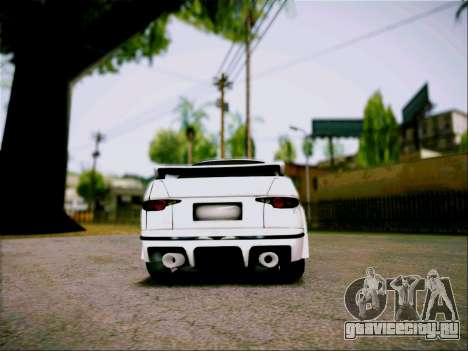 Akari 130 для GTA San Andreas вид сзади