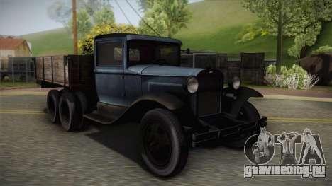 ГАЗ-ААА 1934 для GTA San Andreas