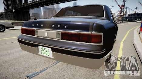 Toyota Century 2005 для GTA 4 вид сзади слева