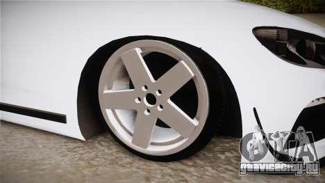 Volkswagen Scirocco Stance Works для GTA San Andreas вид сзади
