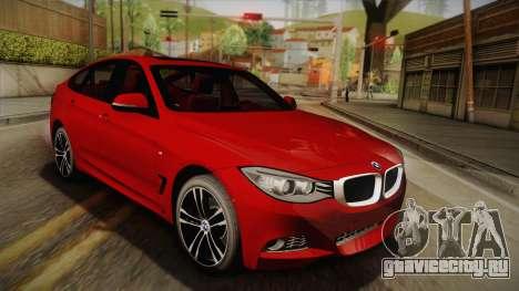 BMW 335i F34 Gran Turismo для GTA San Andreas