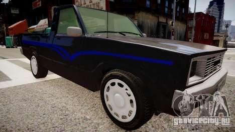 Mazda Pickup для GTA 4 вид справа