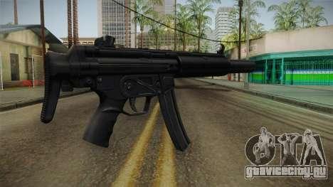 MP5 SD3 для GTA San Andreas второй скриншот