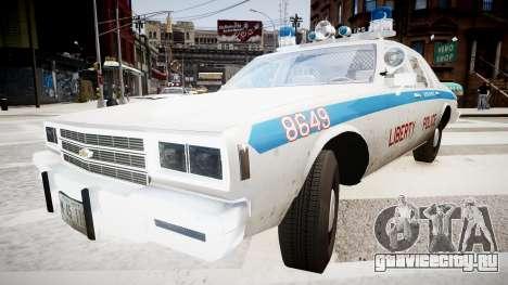 Chevrolet Impala Chicago Police для GTA 4