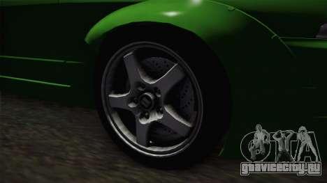 Nissan Skyline R32 Tuned для GTA San Andreas вид сзади