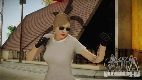 GTA 5 Online Skin Female для GTA San Andreas