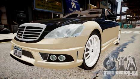 Carlsson Aigner CK65 RS Blanchimont 2008 для GTA 4