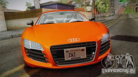 Audi Le Mans Quattro 2005 v1.0.0 YCH PJ для GTA San Andreas вид справа