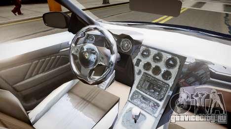 Alfa Romeo 159 Carabinieri для GTA 4 вид изнутри