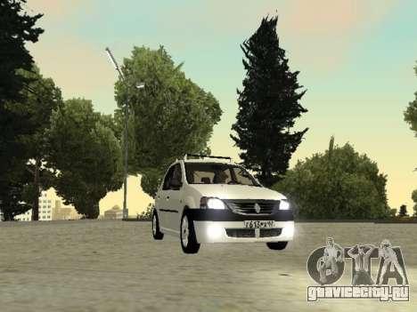 Renault Logan 2007 для GTA San Andreas