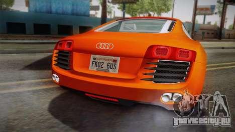 Audi Le Mans Quattro 2005 v1.0.0 YCH PJ для GTA San Andreas вид сзади