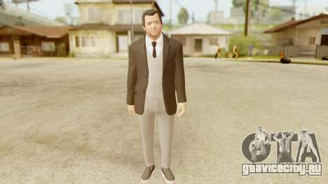 GTA 5 Michael New Suit для GTA San Andreas
