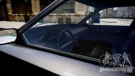 GTA 4 FIB Buffalo для GTA 4 вид изнутри