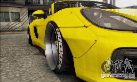 Porsche Boxter GTS L3DWork для GTA San Andreas вид справа