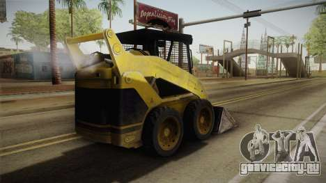 Demolition Company - Skid Steer Loader для GTA San Andreas вид слева