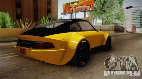 GTA 5 Pfister Comet Retro Custom для GTA San Andreas вид справа