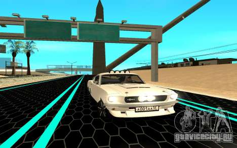 Shelby Mustang GT500 для GTA San Andreas