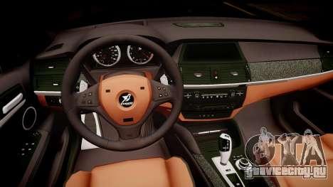 BMW X6 Hamann v2.0 для GTA 4 вид изнутри