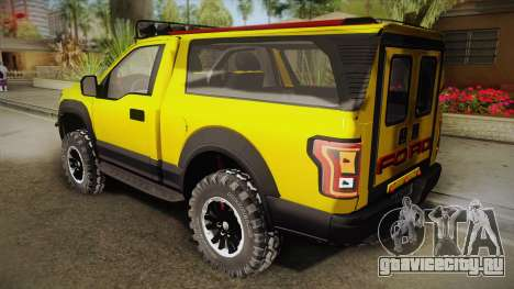 Ford F-150 Raptor FSHH для GTA San Andreas вид слева