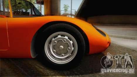 Porsche 718 Spyder RS 1960 для GTA San Andreas вид сзади слева