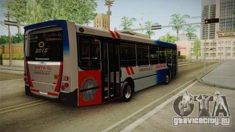 UGARTE Europeo для GTA San Andreas вид сзади слева
