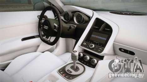 Audi Le Mans Quattro 2005 v1.0.0 YCH для GTA San Andreas вид изнутри