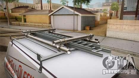 GTA 5 Declasse Burrito Commercial для GTA San Andreas вид изнутри