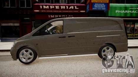 Mercedes-Benz Vito Sport-X для GTA 4 вид справа