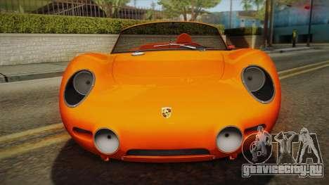 Porsche 718 Spyder RS 1960 для GTA San Andreas вид справа