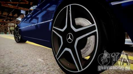 Mercedes-Benz W124 E500 для GTA 4 вид сзади