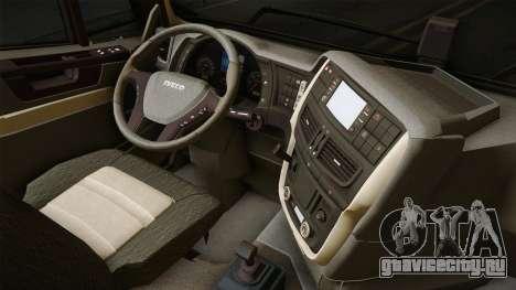 Iveco Trakker Hi-Land 4x2 Cab Low v3.0 для GTA San Andreas вид изнутри